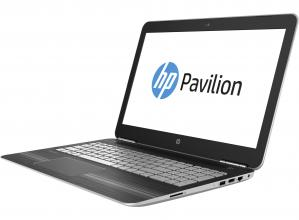 "HP Pavilion Gaming 15-bc001nu 15.6"" FHD, i7-6700HQ, 8GB DDR4, 128GB SSD + 1TB HDD, GTX 960M 4GB, Сребрист (W9A01EA)"