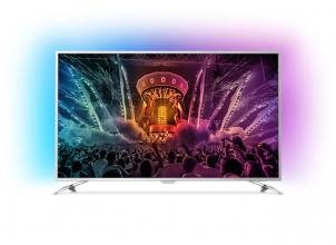 "Телевизор Philips 49PUS6561, 49"" 4K UHD LED, Android 6.0, Ambilight 3 (49PUS6561/12)"