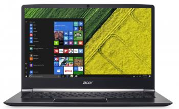 "Acer Aspire Swift 5 (NX.GLDEX.016) 14.0"" IPS FHD, i7-7500U, 8GB RAM, 256GB SSD, Win 10, Черен"