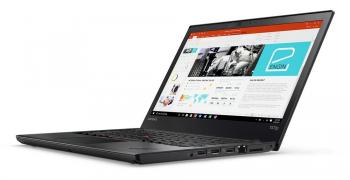 "Lenovo ThinkPad T470p 14"" FHD IPS, i7-7700HQ, 8GB RAM, 256GB SSD, GF 940MX 2GB, Win 10, Черен (20J6003FBM)"