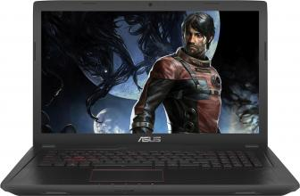 "ASUS FX553VE-FY177 (90NB0DX4-M02450) 15.6"" FHD, i7-7700HQ, 8GB RAM, 1TB HDD, GTX 1050Ti, Металик"