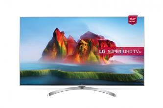 "Телевизор LG 55SJ810V, 55"" IPS 4K SUPER UHD TV, 3840x2160, Smart webOS 3.5"