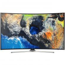 "Телевизор Samsung 55MU6202 55"" 4K, CURVED, 3840x2160, SMART, Черен"