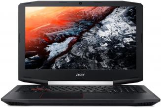 "UPGRADED Acer Aspire VX 15 VX5-591G-75BL, 15.6"" FHD IPS, i7-7700HQ, 8GB RAM, 256GB SSD, 1TB HDD, GTX 1050Ti, Черен"