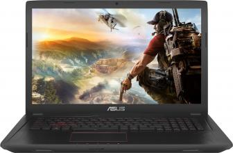 "UPGRADED ASUS FX753VE-GC093, 17.3"" FHD IPS, i7-7700HQ, 16GB RAM, 1TB HDD, GTX 1050Ti, Метален (90NB0DN3-M01270)"