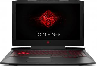 "UPGRADED HP Omen 15-ce014nu (2MD15EA) 15.6"" FHD IPS, i5-7300HQ, 16GB RAM, 128GB SSD, 1TB HDD, GTX 1050, Win 10, Черен"