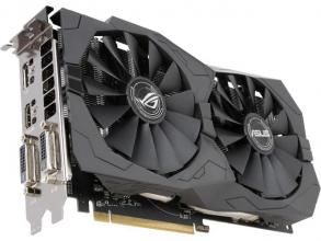 Видео карта ASUS Radeon™ ROG STRIX RX 570 Gaming 4GB GDDR5 (ASUS-VC-RX570-STRIX-4GD5)