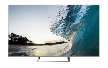 "Телевизор Sony KD-65XE8577 BRAVIA 65"" 4K TV HDR BRAVIA, Edge LED, Processor 4K HDR X1, Triluminos, Android TV 6.0 Сребрист"