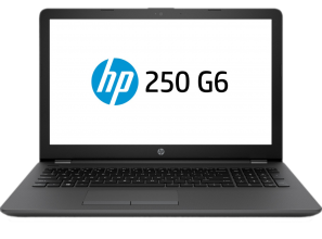 "UPGRADED HP 250 G6 (2HG53ES) 15.6"" HD, i3-6006U, 8GB RAM, 128GB SSD, Черен"