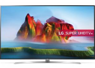 "Телевизор LG 75SJ955V, 75"" SUPER UHD ELED 3840x2160, Wi-Fi, Smart TV, Сребрист"