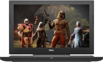 "Dell Inspiron 7577, 15.6"" 4K IPS, i7-7700HQ, 16GB RAM, 512GB SSD, 1TB HDD, GTX 1060 6GB, Черен"