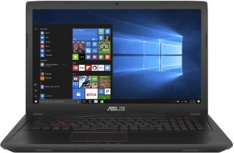 "UPGRADED ASUS FX753VD-GC071, 17.3"" IPS FHD, i7-7700HQ, 16GB RAM, 1TB HDD, GTX 1050, Металик"