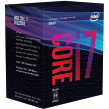 Процесор Intel Core i7-8700 (3.2/4.6GHz, 12MB Cache)