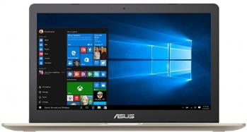 "UPGRADED ASUS VivoBook Pro 15 N580VN-FY076, 15.6"" FHD IPS, i7-7700HQ, 8GB RAM, 128GB SSD, 1TB HDD, GF MX150 DDR5 4GB, Златист"