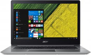 "UPGRADED Acer Swift 3 SF314-52-31J8 (NX.GNUEX.036) 14.0"" FHD IPS, i3-7130U, 4GB RAM, 512GB SSD, Win 10, Сребрист"