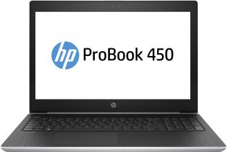 "UPGRADED HP ProBook 450 G5, 15.6"" FHD UWVA, i5-8250U, 8GB RAM, 256GB SSD, 1TB HDD, Сив"