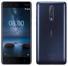 "Nokia 8 5.3"" IPS QHD, Single SIM, Dual cam 13MP+13MP, Син"