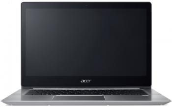 "Acer Aspire Swift 3 Ultrabook (NX.GQGEX.007) 14.0"" FHD IPS, i7-8550U, 8GB RAM, 512GB SSD, Win 10, Сребрист"
