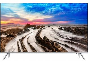 "Телевизор Samsung 55"" 55MU7002 4K Ultra HD 3840x2160, Smart TV, Wi-Fi, Сребрист (UE55MU7002TXXH)"
