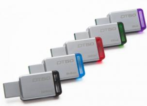 USB флаш памет KINGSTON Data Traveller 8GB DT50 USB3.0