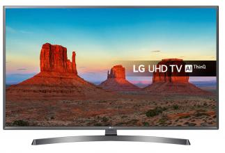 "Телевизор LG 43UK6750PLD, 43"" 4K HDR UHD (3840x2160), Smart webOS 4.0, Сив"