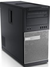 За игри Dell Optiplex 9020 Tower, i7-4770, 4GB RAM, 250GB HDD, GTX 1050Ti, DVD-RW, Win 10 Pro