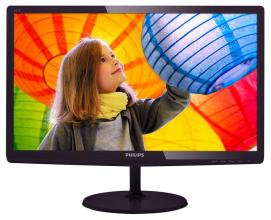 "Philips 21.5"" LED monitor FullHD 1920x1080, Черен"