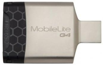 Четец за карти KINGSTON FCR-MobileLife G4, USB 3.0