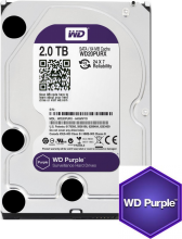 Твърд диск Western Digital 2TB 7200rpm 64MB Purple