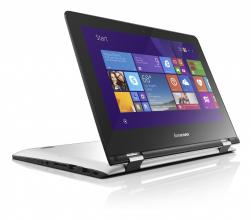 "Ултрабук Lenovo Yoga 300-11IBR (80M100RRBM) 11.6"" Touch, Intel N3060, 4GB RAM, 1TB HDD,Intel HD Graphics, Windows 10, Бял"