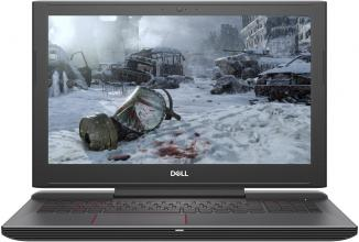 "UPGRADED Dell Inspiron 7577 (5397184100028) 15.6"" FHD IPS, i7-7700HQ, 16GB RAM, 512GB SSD, 1TB HDD, GTX 1060 6GB, Червен"
