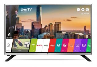 "Телевизор LG 32LJ590U, 32"" LED HD TV, HD 1366x768, SMART TV, webOS 3.5, Сребрист"