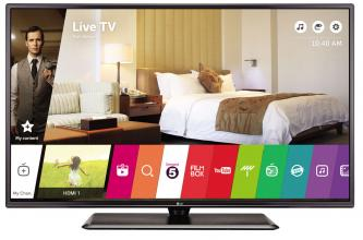 "Телевизор LG 32LW641H 32"" LED FHD, Smart TV Wi-Fi, Черен"
