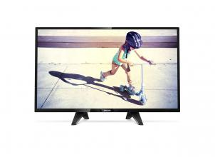 "Телевизор Philips 32PHS4132 32"" HD, 1366 x 768, черен"