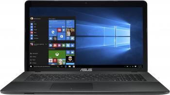 "UPGRADED ASUS X751NV-TY001, 17.3"" HD+ , Quad-Core N4200, 4GB RAM, 240GB SSD, 1TB HDD, GF 920MX, Черен, 90NB0EB1-M00130"