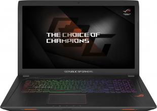 "ASUS ROG Strix GL753VE-GC070T, 17.3"" IPS FHD, i7-7700HQ, 32GB RAM, 256GB SSD, 1TB HDD, GTX 1050Ti 4GB, Win 10, 90NB0DN2-M01920, Метален"