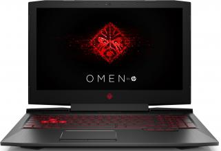 "UPGRADED HP Omen 17-an011nu (2LF40EA) 17.3"" FHD IPS, i7-7700HQ, 32GB RAM, 256GB SSD, 1TB HDD, GTX 1050Ti, Win 10, Black"