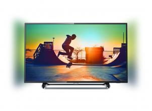 "Телевизор Philips 43PUS6262/12 43"" UHD 3840 x 2160, Ambilight 2, Сребрист"