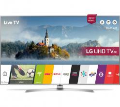 "Телевизор LG 43UJ701V, 43"" LED TV 4K 3840x2160, Wi-Fi, Smart"