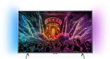 "Телевизор Philips 43PUS6401 43"" 4К UHD, Android, Ambilight 2"