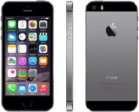 Преоценен iPhone 5s 16GB, Сив