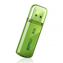 USB флаш памет 8GB Silicon Power Helios Apple Green 101