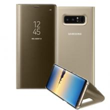 Clear View Standing Cover Samsung Galaxy Note 8, Златист