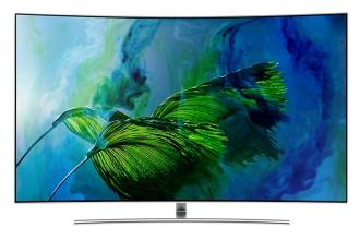 "Телевизор Samsung 65"" 65Q8CAM 4K QLED CURVED, SMART"