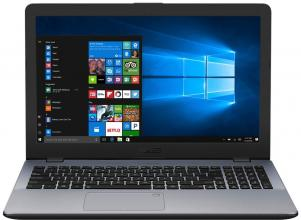 "UPGRADED ASUS VivoBook 15 X542UQ-DM117, 15.6"" FHD, i3-7100U, 16GB RAM, GF 940MX, Сив"