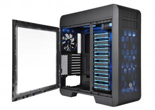 Кутия Thermaltake CA-1B6-00F1WN-00 Core V71 Black EATX