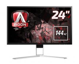 "AOC AGON AG241QX, 23.8"" TN LED, 1 ms, 2560x1440, 144Hz"