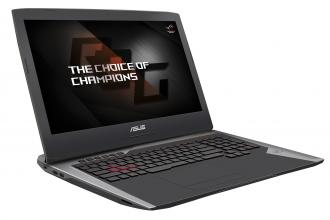 "ASUS ROG G752VS-GC063T 17.3"" IPS LED HD, i7-7600HQ, 16GB,1TB HDD, GTX 1070,Windows 10, Сив"