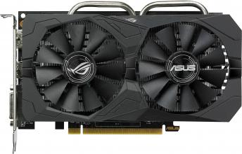 Видео карта ASUS Radeon™ RX 460 ROG Strix Gaming OC 4GB GDDR5 (ASUS STRIX RX 460-O4G-GAMING)