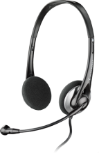 Слушалки с микрофон Plantronics Audio 326